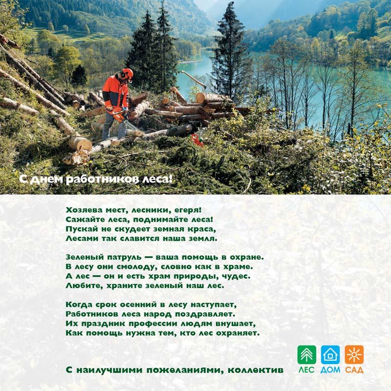 Поздравления работникам в деревообрабатывающей промышленности 46